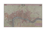 Map of London  1725
