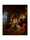 Greek Women Imploring at the Virgin of Assistance  1826