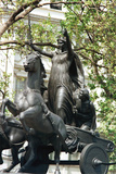 Statue of Boudicca and Her Daughters in a Chariot  Thames Embankment  London  19th Century