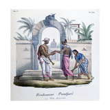 Outside a Temple  India  1828