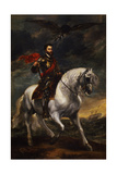 Equestrian Portrait of the Emperor Charles V  C 1620