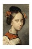 Portrait of the Ballerina Marie Taglioni