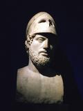 Marble Portrait Bust of Perikles  Athenian Statesman (C490-429 B)  Roman  2nd Century Bc
