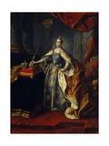 Portrait of Empress Catherine II (1729-179)  1762