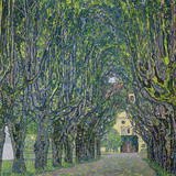Avenue in the Park of Kammer Castle  1912