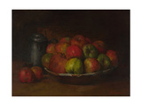Still Life with Apples and a Pomegranate  1871-1872
