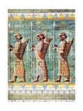 The Archers of Kiing Darius  Susa  Iran  1933-1934