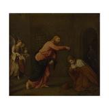 Christ Baptising Saint John the Martyr of Alexandria  C 1565
