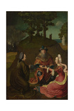 Lot's Daughters Make their Father Drink Wine  1508-1512