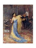 Portrait of the Ballerina Anna Pavlova (1881-193)  1904