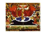The Coronation of the Virgin  1454