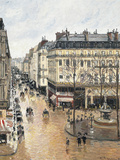 Rue Saint-Honoré in the Afternoon  Effect of Rain  1897