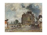 Demolition Work in Rue Des Francs-Bourgeois-Saint-Marcel  1868