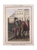 Brick Dust  Cries of London  1804