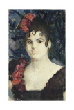 Portrait of Tatyana Lyubatovich as Carmen  1890S