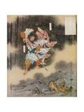 Izanagi and Izanami Giving Birth to Japan  1925