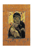 The Virgin of Vladimir  Byzantine Icon  Early 12th Century