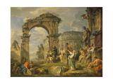 Cumaean Sibyl Prophesied the Birth of Christ  1743