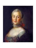 Portrait of Grand Duchess Catherine Alekseyevna  1760