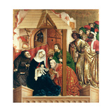 The Adoration of the Magi  the Wings of the Wurzach Altar  1437