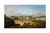 Schönbrunn Palace Viewed from the Front Side  Between 1758 and 1761