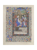 The Adoration of the Magi (Book of Hour)  1440-1460