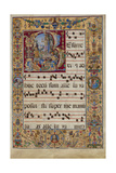 The Gradual Initial R: the Resurrection  C 1500