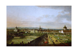 View of Vienna from the Belvedere  Between 1758 and 1761
