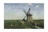 Landscape with Windmill Near Schiedam  1873