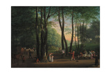 The Dancing Glade at Sorgenfri  North of Copenhagen  1800