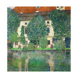 Schloss Kammer on Lake Attersee III, 1910 Giclée par Gustav Klimt