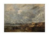 Stormy Weather Pas De Calais  C 1870