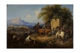 Russian Forces Crosses the Caucasus Mountains in Adjara  1872