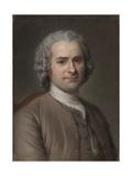Portrait of Jean-Jacques Rousseau (1712-177)