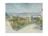 Montmartre: Behind the Moulin De La Galette  1887