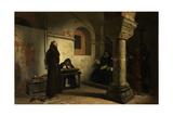 Bernard Délicieux before the Inquisition Tribunal  Ca 1881