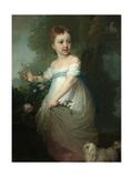 Portrait of Yelena Naryshkina as Child  Early 1790S