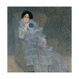 Portrait of Marie Henneberg Giclée par Gustav Klimt