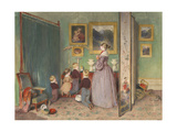 The Evening Prayer (Archduchess Sophie with Childre)  1839