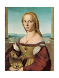 Portrait of a Young Lady with a Unicorn  1505-1506