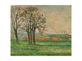 The Bare Trees at Jas De Bouffan  1885-1886