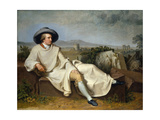 Goethe in the Campagna  1787