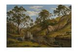 The Bath of Diana  Van Diemen's Land  1837