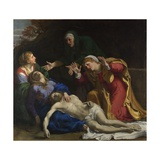 The Dead Christ Mourned (The Three Marie)  Ca 1604