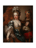Judith with the Head of Holofernes  Mid of the 18th C