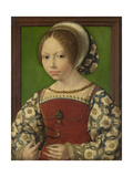 Portrait of Princess Dorothea of Denmark (1520-158)  Ca 1530