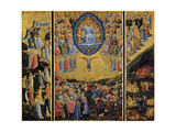 The Last Judgment (Winged Alta), Early 15th C Giclée par Fra Angelico
