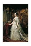 Portrait of Isabella II of Spain