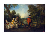 Concert in the Park  1720-1743