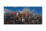 The Battle of Alexander Versus Darius  1644-1655